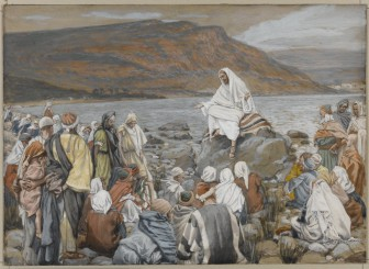 Painting: Jesus Teaches the People by the Sea
