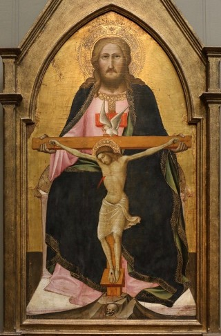Agnolo Gaddi's Mercy Seat Trinity painting
