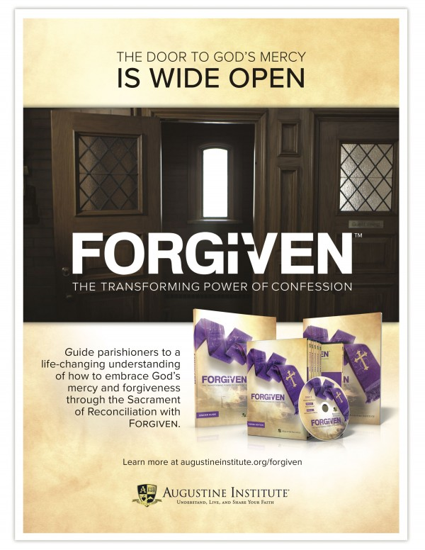 Advertisement for Forgiven: The Transforming Power of Confession Parish Study