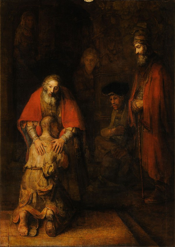 Rembrandt's painting of The Return of the Prodigal Son