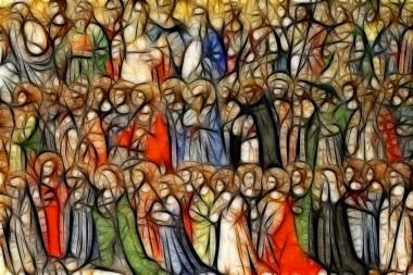 mural of all saints