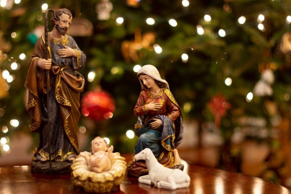 photo of Christmas nativity scene