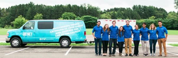 Net Ministries Van and Youth Leader Team
