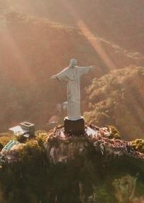 Christ the Redeemer, Rio de Janeiro, Brazil by Matheus Bertelli