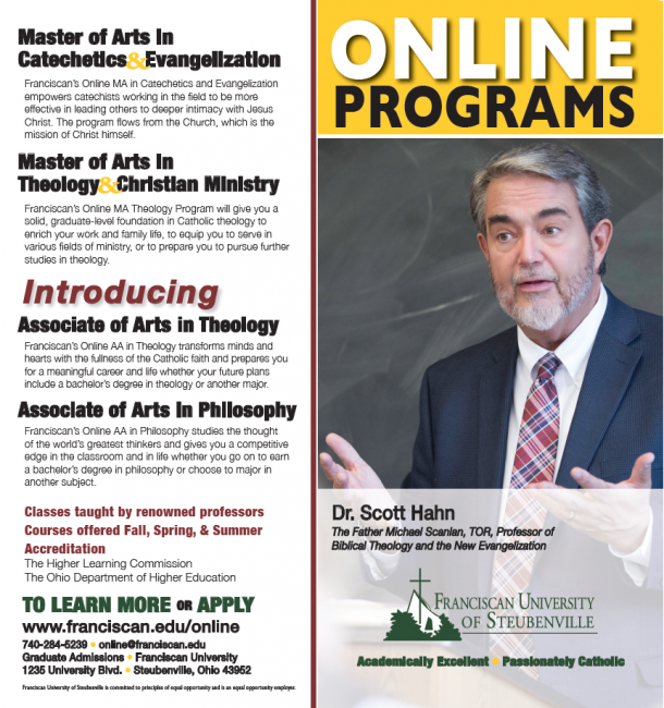 AD: Online Associate Degrees in Philosophy & Theology | The