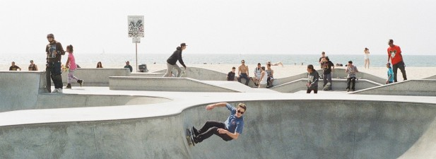 Youth in Skate Park