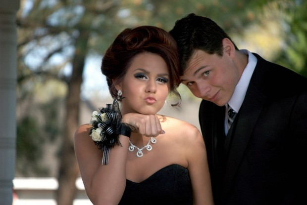 Photo of Prom couple