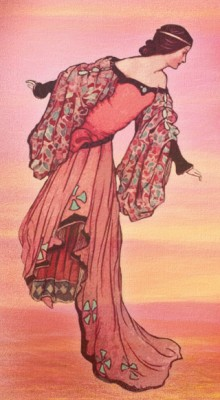 Illustration of the Light Princess.