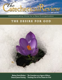 Cover of the April-June 2016 issue of The Catechetical Review