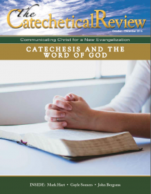 Cover of October 2016 issue of The Catechetical Review