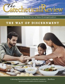 Cover of July to September 2018 issue of The Catechetical Review on the Way of Discernment
