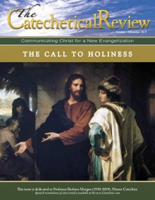Catechetical Review Cover for October-December 2019_Call to Holiness