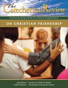 Cover art of the October-December 2017 issue of The Catechetical Review