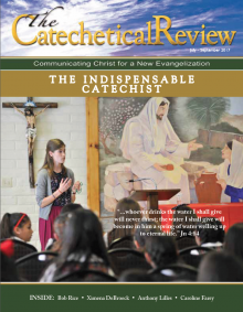 Cover of the July to September 2017 Catechetical Reivew on The Indispensable Catechist
