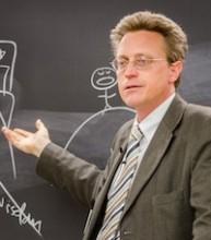 photo of John Bergsma teaching