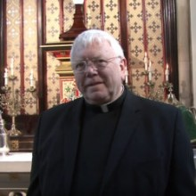 Photo of Monsignor Paul J Watson in Birmingham, England